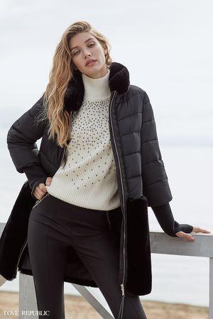Купить со скидкой Пальто женское