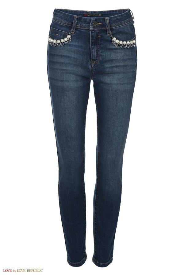 Брюки джинсовые 8450691710-102