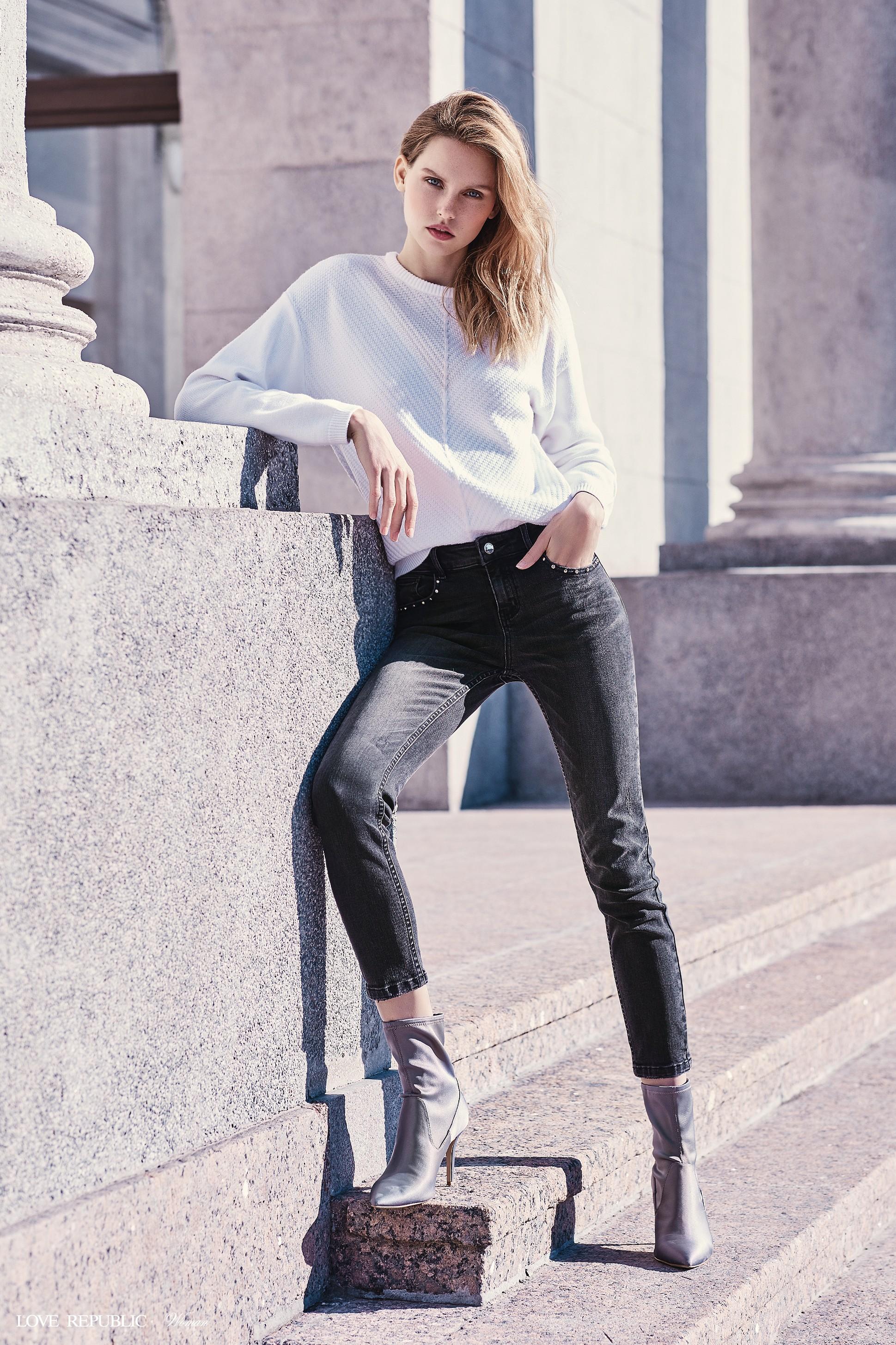 f3bb1e62adbfb55 Брюки джинсовые 8450941705-109 - купить в интернет-магазине LOVE ...