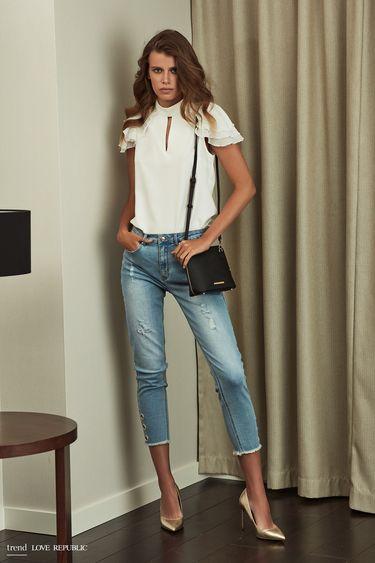 Брюки джинсовые 9254192722