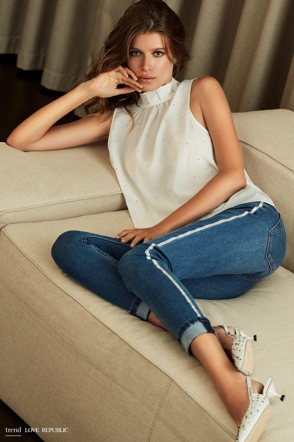 Брюки джинсовые 9254191721-41