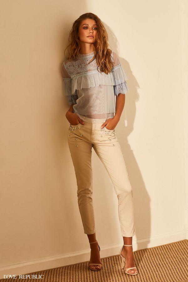 Брюки джинсовые 9254444706-2