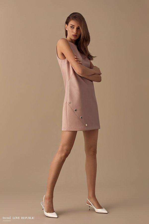 Мини-платье без рукавов  9358063543-50