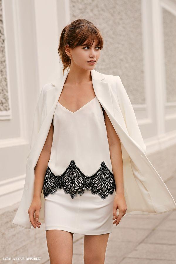 Короткая прямая юбка  9358565239-60
