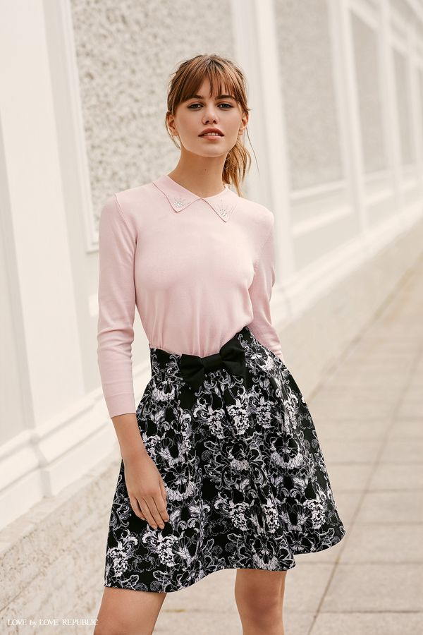 Пышная юбка с цветочным принтом 9358568239-53