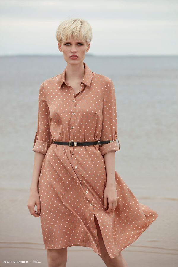 Платье-рубашка длины миди 9358780539-26