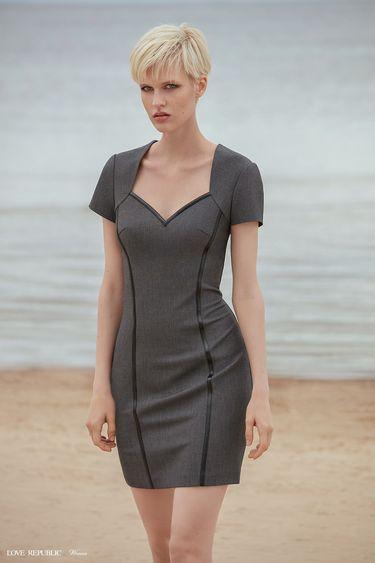 Платье-футляр длины мини 9358813512