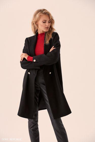 Пальто оверсайз с пуговицами 9359477116