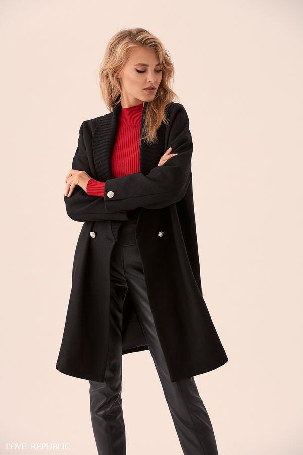Пальто оверсайз с пуговицами 9359477116-50