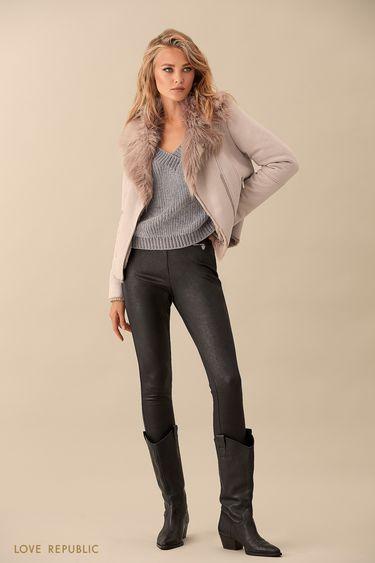 Прямые брюки без застёжки 9359503723