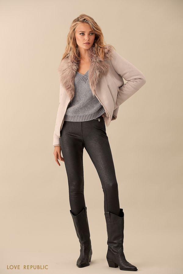 Прямые брюки без застёжки 9359503723-50